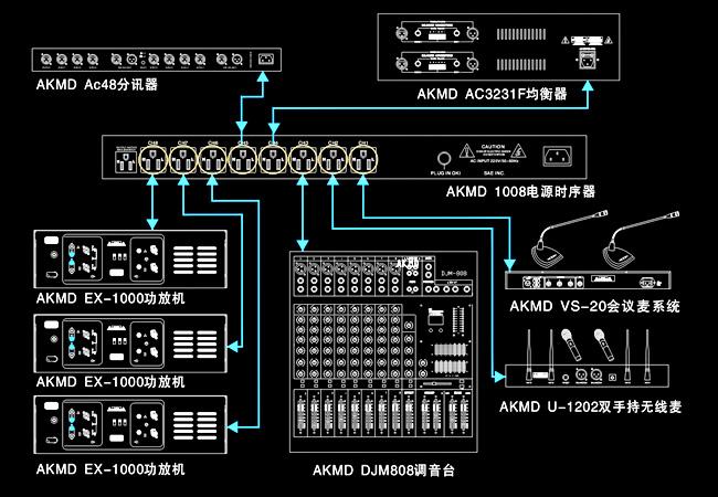 音响设备电路图